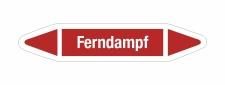 Rohrleitungskennzeichnung Aufkleber Etikett Ferndampf DIN...