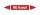 Rohrleitungskennzeichnung Aufkleber Etikett MD Dampf DIN 2403 Dampf