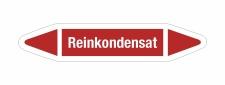 Rohrleitungskennzeichnung Aufkleber Etikett Reinkondensat...