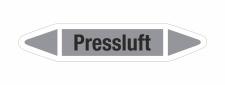 Rohrleitungskennzeichnung Aufkleber Etikett Pressluft DIN 2403 Luft