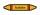 Rohrleitungskennzeichnung Aufkleber Etikett Acetylen DIN 2403 Brennbare Gase