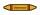 Rohrleitungskennzeichnung Aufkleber Etikett Ethylenoxid DIN 2403 Brennbare Gase