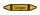 Rohrleitungskennzeichnung Aufkleber Corgon DIN 2403 Nichtbrennbare Gase