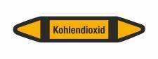 Rohrleitungskennzeichnung Aufkleber Kohlendioxid DIN 2403 Nichtbrennbare Gase