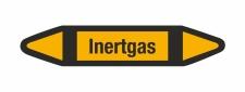Rohrleitungskennzeichnung Aufkleber Inertgas DIN 2403...