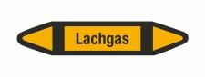 Rohrleitungskennzeichnung Aufkleber Lachgas DIN 2403...