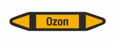 Rohrleitungskennzeichnung Aufkleber Ozon DIN 2403...