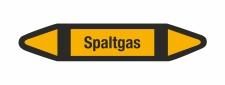Rohrleitungskennzeichnung Aufkleber Spaltgas DIN 2403...