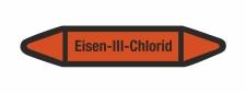 Rohrleitungskennzeichnung Aufkleber Etikett Eisen 3...