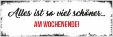Holzschild Retro Vintage Geburtstag Alles ist...