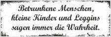 Holzschild Retro Vintage Geburtstag Betrunkene Menschen...