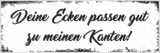 Holzschild Retro Vintage Geburtstag Ecken passen zu...