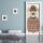 Türtapete Türposter Hund Anzug Brille Hut selbstklebend 2050 x 880 mm