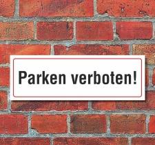 Schild Parken verboten Parkverbot Halteverbot Hinweis 300...