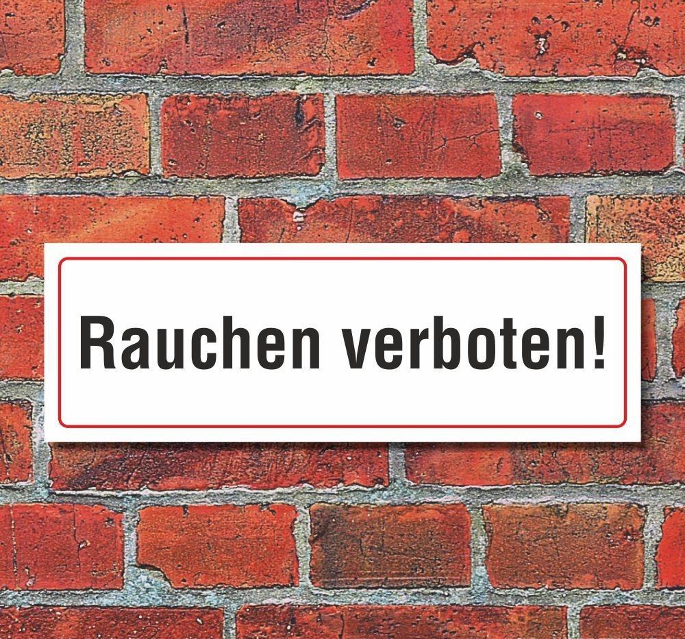 Schild Achtung Heizöllagerraum Rauchen Licht Feuer verboten 3 mm Alu-Verbund
