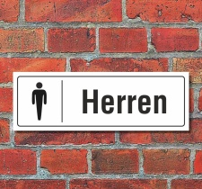 Schild Toiletten Toilette WC Klo Türschild Herren...