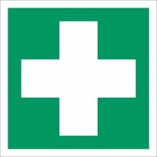 3. Erste Hilfe - Schild 200 x 200 mm