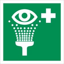 9. Augenspüleinrichtung - Schild 200 x 200 mm