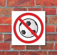 Schild Fußball spielen verboten Türschild...