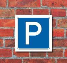 Schild Halten Parken erlaubt Parkplatz Parkplatzschild...