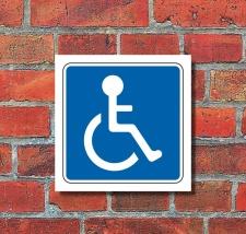 Schild Behindertenparkplatz Halten Parken Parkplatz...