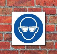 Schild Augenschutz benutzen Gebotsschild Hinweisschild...