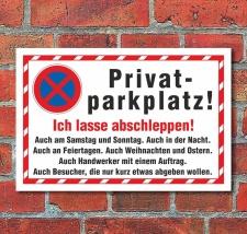 Schild Parkverbot Parken verboten Halteverbot Abschleppen...