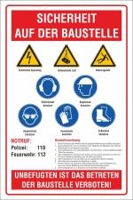 PVC Banner Plane Palettenbanner Europalette Sicherheit...