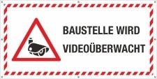 PVC Werbebanner Banner Plane Bauzaunplane Baustelle wird...