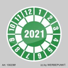 Prüfplakette 2021 Jahresplakette Siegel Aufkleber...