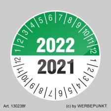Prüfplakette 2021-2022 Siegel Aufkleber BGR UVV BGV...