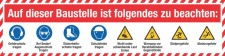 PVC Werbebanner Banner Plane Baustelle...