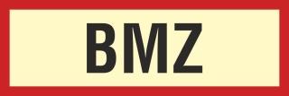 Brandschutzzeichen BMZ Brandmeldezentrale Feuer Rauch Nachleuchtend ASR A1.3