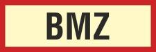 Brandschutzzeichen BMZ Brandmeldezentrale Feuer Rauch...