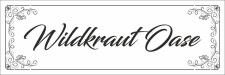 Kräuterschild Pflanzenschild Wildkraut Oase Saatgut...