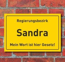 Ortschild Regierungsbezirk Geschenk Geburtstag Hausschild...
