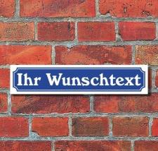 Schild im Straßenschild-Design - Ihr Text...