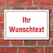 Schild Hinweisschild Wunschtext Firmenschild Praxisschild...