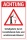 Schild Achtung Unfallgefahr Herabfallende Äste Bäume Warnung 3 mm Alu-Verbund