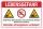 Schild Lebensgefahr Abbruchkante Untiefen Schwimmen verboten 3 mm Alu-Verbund