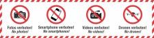 PVC Werbebanner Banner Plane Fotos Smartphone Videos...