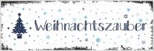Vintage Shabby Holzschild Weihnachtszauber Winter...