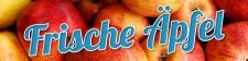 PVC Werbebanner Banner Plane Frische Äpfel Obst...