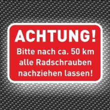 576 Stück Aufkleber Reifen, Räder, Radmuttern...