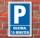 Schild Parken, Parkplatz, Maximal 15 Minuten, 3 mm Alu-Verbund