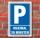 Schild Parken, Parkplatz, Maximal 30 Minuten, 3 mm Alu-Verbund