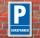 Schild Parken, Parkplatz, Kurzparker, 3 mm Alu-Verbund
