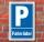 Schild Parken, Parkplatz, Fahrräder, 3 mm Alu-Verbund 300 x 200 mm