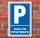 Schild Parken, Parkplatz, Praxis für Physiotherapie, 3 mm Alu-Verbund