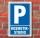 Schild Parken, Parkplatz, Kosmetikstudio, 3 mm Alu-Verbund